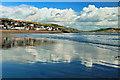 SY3492 : Seafront Reflections ~ Lyme Regis by susie peek-swint