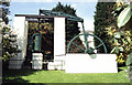 ST0888 : Preserved steam engine, University of Glamorgan by Chris Allen