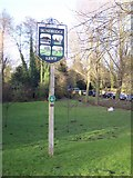 TQ4855 : Sundridge Village Sign by David Anstiss