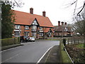 SJ7061 : Warmingham - Main Road & Bear Paw Pub by Peter Whatley