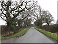 SJ7364 : Bradwall Road At Curtishulme Farm by Peter Whatley