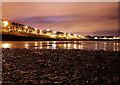 J5282 : Ballyholme Beach at night by Rossographer
