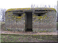 TL4486 : Pillbox by Forty Foot Drain by Hugh Venables