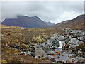 NG8959 : Waterfall on the Abhainn Coire Mhic Nòbuil by Nigel Brown
