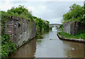 SJ6446 : Shropshire Union Canal - old railway crossing by Roger  Kidd