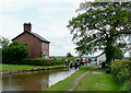 SJ6255 : Hurleston top lock and cottage, Cheshire by Roger  Kidd