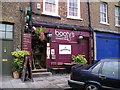 TQ3680 : Bootys Bar, Limehouse, London by canalandriversidepubs co uk