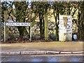 SD7710 : Starling guidepost by David Dixon