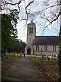 SZ0894 : Bournemouth : Moordown - Parish Church of St. John the Baptist by Lewis Clarke