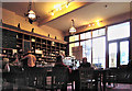 SH7217 : Inside the Coffee Shop, Parliament House, Dolgellau by Dave Croker