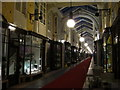 TQ2980 : Burlington Arcade at night : Week 7