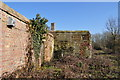 TM3294 : Derelict Building at Seething Airfield Administration site by Ashley Dace