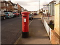 SZ0279 : Swanage: postbox № BH19 33, Kings Road West by Chris Downer