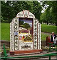 SK0573 : Buxton Well Dressing by Peter Teal