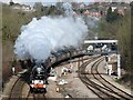 "ST3086 : Tornado hauling the St David's Day ""Cathedrals Express"" : Week 9"