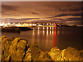J5082 : Bangor Bay at night by Rossographer