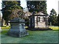 NS4076 : The Denny family mausoleum by Lairich Rig