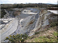 SX8574 : Denistone Quarry, southwest extension by Robin Stott