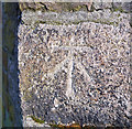 J3373 : Bench Mark, Belfast by Rossographer