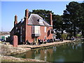 SX9390 : The Double Locks Hotel, Marsh Barton, Exeter, Exeter Ship Canal by canalandriversidepubs co uk