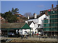 SX9292 : The Prospect Inn Pub, Exeter, Exeter Ship Canal by canalandriversidepubs co uk