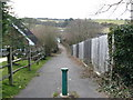 TQ2909 : Sussex Border Path approaching the A 23 crossing by Dave Spicer