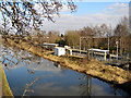 SJ7789 : Bridgewater Canal and Timperley Station by David Dixon
