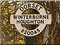 ST8104 : Winterborne Houghton: finger-post detail by Chris Downer