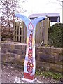 SK2999 : Nation Cycle Network Marker 6 by John Douglas