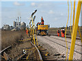TG3902 : Work on the line between level crossings A39 and A38 : Week 11