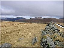 SH6321 : Diffwys ridge and the Rhinogydd by Rudi Winter