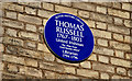 Photo of Thomas Russell blue plaque