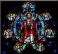 TQ4069 : St Peter & St Paul, Church Road, Bromley - Window : Week 12