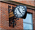 J3472 : The Ormeau Bakery clock, Belfast by Albert Bridge