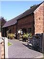 SJ9304 : Old Hall Barn by Gordon Griffiths