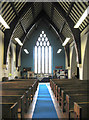 TQ4886 : St Mary, Valence Wood Road, Becontree - West end by John Salmon