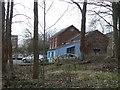 SJ9383 : Former Colliery buildings by Alan Murray-Rust