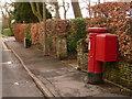 SZ0094 : Broadstone: postbox № BH18 161, York Road by Chris Downer