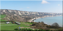 TR2437 : Folkestone To Dover Coastline by Oast House Archive