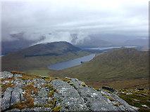 NN4881 : View towards Lochan na h-Earba by Nigel Brown