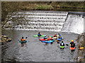 SD7913 : Below The Weir At Burrs by David Dixon