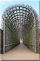 TQ1568 : Hampton Court Garden Tunnel : Week 15