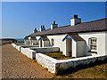 SH3862 : Pilots' cottages on Ynys Llanddwyn by Dr Richard Murray