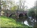 SP1563 : Bridge over the River Alne by John M