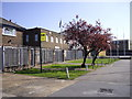 TQ4988 : Territorial Army Centre, London Road Romford by PAUL FARMER