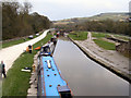SK0182 : Peak Forest Canal: Bugsworth Basin by David Dixon