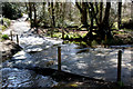 SW7025 : Ford on minor road near Gweek by Dr Neil Clifton