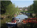 TQ8327 : Boats on River Rother by Oast House Archive