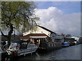 SJ7087 : The Barn Owl Inn Pub, Agden Wharf, Lymm by canalandriversidepubs co uk