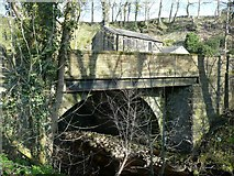 SE0025 : Dauber Bridge, Mytholmroyd by Humphrey Bolton